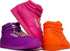 775e64d1f45712 reebok-freestyle - dude these were sweet...in white and black Aerobics