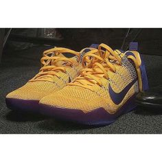save off 86b41 4051b Lakers vs kings, a closer look at Kobe Bryant s Nike Kobe 11 PE  kobe11