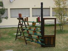 Aperto Scaffale. Tempi materiali. Orgiano (VI) 2009. Installazioni, con incontri e laboratori, di Oreste Sabadin