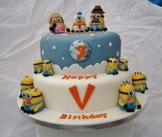 despicable me cake | Despicable Me Minions Cake | Flickr - Photo Sharing!