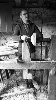 Robin Wood, Wood Turner, Dartmore