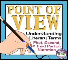 POINT OF VIEW: Presentation & Activity (First, Second Third Person Narration) from Presto Plans on TeachersNotebook.com -  (18 pages)  - Help your students develop their understanding of point of view and narration with this resource.