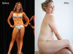 How Taryn Brumfitt embraced positive body image...