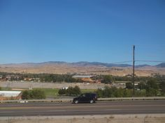 PT 33 SEPT 2014 THE MOUNTAINS BEHIND BOISE IDAHO.