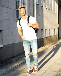 Style by @edinjasarevic Yes or no? Follow @mensfashion_guide for dope fashion posts! #mensguides #mensfashion_guide
