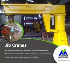 Discover how the jib crane can improve your business from  V. M. Engineers! Request a Catalogue Now! Visit : http://www.vmecranes.com #JibCranes #Cranes #VMEcranes