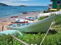 Fishing boats on La Isla Taboga, Panama