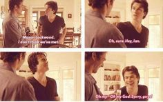 This is my favourite blooper!!!