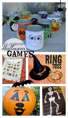 halloween games for classroom parties! a whole roundup of really easy diy activites