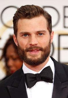 It was basically hand-crafted by angels themselves. | The Biggest Winner At The Golden Globes Is Jamie Dornan's Beard