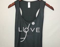 Volleyball tank top. Love Volleyball. Volleyball tank. Vball tank top. Girls volleyball tank. Ladies volleyball shirt.Volleyball shirt.Vball