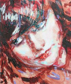 "Saatchi Art Artist Liam Marc O'Connor; Painting, ""Leah"" #art (Woolf)"