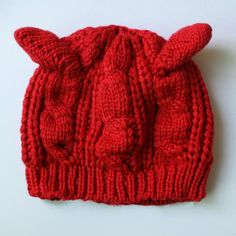 These beanies are so soft, warm, and will be the cutest accessory you will own this fall/winter. Chunky wool knitted head warmer.Who doesn't love cat ears? Great gift for the crazy cat person in your