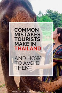 If you are planning your first trip to Thailand, these are the most common mistakes most people make.