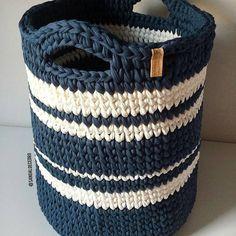 Olha essa linda opção de cesto para fazer com os fios lindos do sorteio! #ficaadica Da @sandaloecedro #inspiração #façavocêmesmo #façavocêtambém #fiodemalhaecológico #fiodemalha #crochet #diadocrochê #lovecrochet #crochetlife