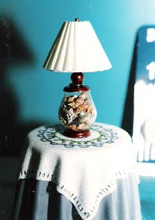 Dollhouse Miniature Furniture - Tutorials | 1 inch minis: How To make a miniature lamp
