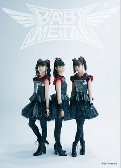Here we have my new favourite band forever, Babymetal! This three girls, Yui, Su and Moa combine J-pop and Metal together, and they are absolutely amazing!