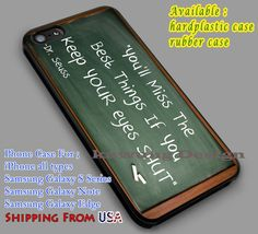 Inspirational Quote | Chalkboard | Dr Seuss iPhone 6s 6 6s  6plus Cases Samsung Galaxy s5 s6 Edge  NOTE 5 4 3 #movie #superwholock #doctorwho #sherlockholmes dl2