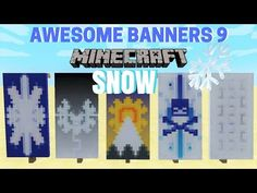 5 AWESOME MINECRAFT BANNER DESIGNS WITH TUTORIAL! #4 ✔ - YouTube