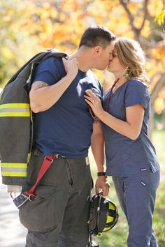 GO BACK Denver Firefighter Engagement Pictures by KB Di
