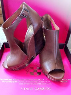 Vince Camuto Shoes ~ Neiman Marcus ~ I had to buy these!!