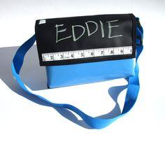 Kindergartentasche Eddie aus Tafelstoff, zum Selbstbemalen von Fräulein Milla