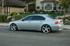 2003 BMW 745Li Hit 110 mph in one of  these 2 days ago.