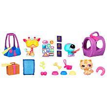 Littlest Pet Shop Playset - Sunshine & Travels - she LOVES Littest Pet Shop - esp the little accessoires