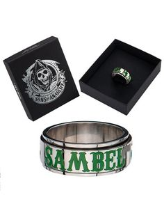 "SOA ""Sambel"" Steel Spinner Ring by Inox Jewelry #InkedShop #InkedMag #Sambel #Steel #Spinner #Ring"
