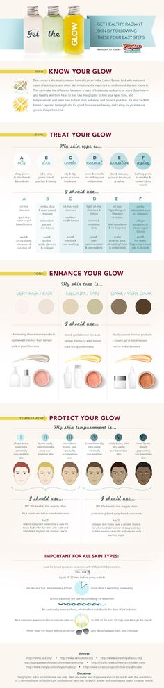 Get the Glow. The perfect way to get radiant skin ♥
