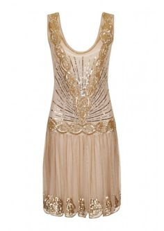 Zelda Flapper Dress Frock and Frill, gatsby, 1920's, beaded, embellished, jazz, dancing, party, christmas, glitz, glam, sparkle, vintage