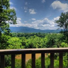 Over looking the Nolichuckey River in Greeneville