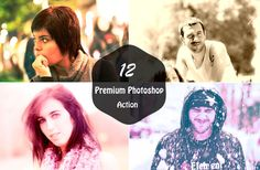 12 Premium Photoshop Actions for Beautiful Photography by Symufa
