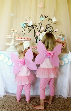 Fairy Birthday Party, DIY fairy glitter, fairy rings, and fairy wings