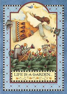 Debbie Mumm - Somogyi Erika - Álbuns da web do Picasa Pintura Country, Arte Country, Country Paintings, Tole Painting, Mini Quilts, Pretty Art, Design Crafts, Quilting Designs, Folk Art