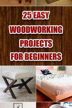 Awesome Simple Woodworking Projects You Can Create Yourself