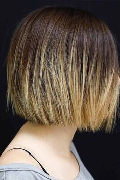 Short Bob Hairstyle With Ombre #shortbob #ombrehair ★ Explore tips on how to get straight hair. Our tips will work for short, medium, and long haircuts. Enhance the natural texture. ★ See more: http://glaminati.com/straight-hair-styles/ #straighthair #straighthairstyles #glaminati #lifestyle