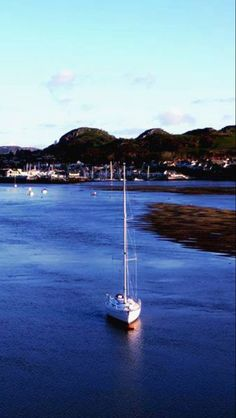 Taken from Conwy Cob looking out to the Deganwy Vadre