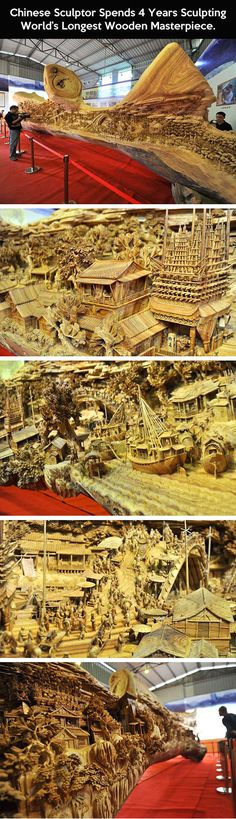 Longest wooden masterpiece in the world.