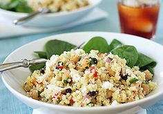The Galley Gourmet: Couscous and Garbanzo Bean Salad with a Honey-Mustard Dressing