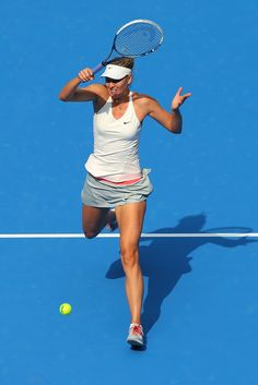 Maria Sharapova Photos: China Open: Day 4. Maria Sharapova of Russia plays a forehand in her match against Elina Scitolina of Ukraine during day four of of the China Open at the National Tennis Center on September 30, 2014 in Beijing, China.