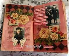 Art Journal. Paper Whimsy Altered Book - sugarlumpstudios - Picasa Web Albums