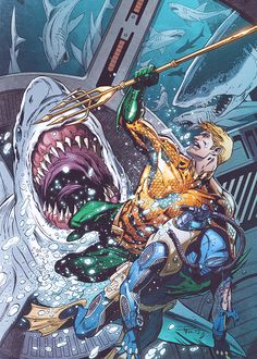 Aquaman #28 -Paul Pelletier
