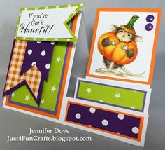 Just4FunCrafts and DoveArt Studios: Haunt It!    Copics: E50 E51 E93 E31 E35 E57 Y15 Y35 Y38 YR68 YG03 YG17 YG67 C3