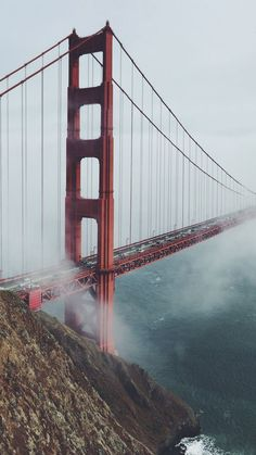 Golden Gate, San Francisco ★ Find more travelicious wallpapers for your #iPhone + #Android @prettywallpaper