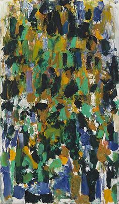 'Pour Patou' (1976) by Joan Mitchell  Art Experience NYC  www.artexperiencenyc.com