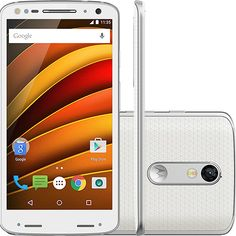 (Submarino) Smartphone Motorola Moto X Force Dual Chip Android Lollipop 5.1.1 Tela 5.4 ´ 64GB 4G Câmera de 21MP - Branco - de R$ 3759.9 por…