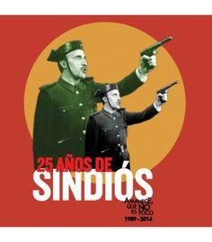 """Camiseta  25 Aniversario Chico Roja """"Amanece, que no es poco"""""""