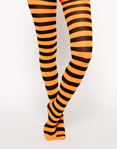 ASOS Halloween Stripe Stockings http://asos.to/ZI1TFE