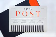 Pencil – Pencil Post on Behance